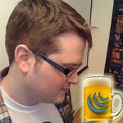 John Resig. And a beer.