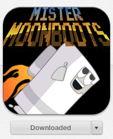 Mister Moonboots on the app store