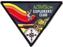 Activision Pitfall badge